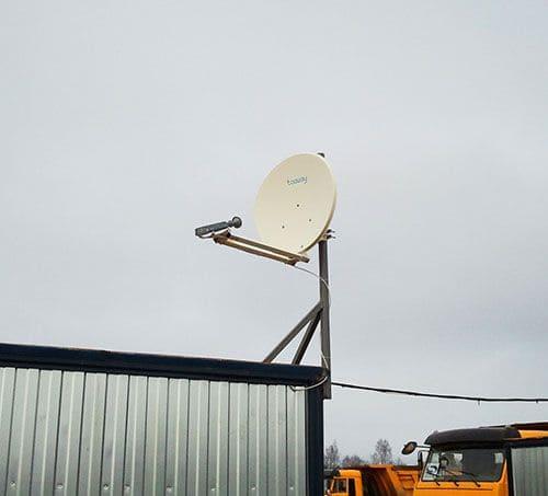 Антенной для спутникового интернета